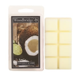 Coconut & Lime Scented Wax Melts  Woodbridge 68 gr