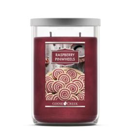 Rapberry Pinwheels Goose Creek  Tumbler Candle 120 Branduren