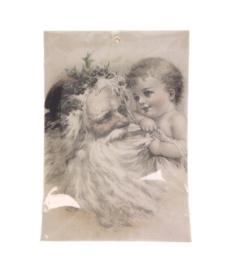 Geurzakje kerstman kind (kaneel)