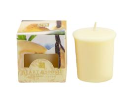 Franse  Vanilla  Heart & Home Votive Geurkaars 52 gram
