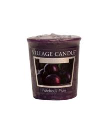 Patchouli Plum Village Candle Premium (61g) Votive