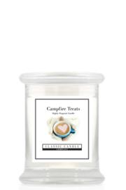 CampFire Treats Classic Candle Midi Jar