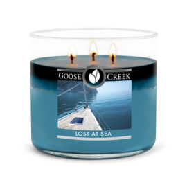 Lost At Sea  Goose Creek Candle  Soy Blend   3 Wick Tumbler