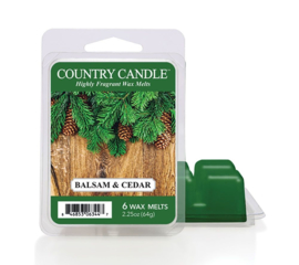 Balsam & Cedar Country Candle Wax Melt