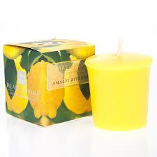 Amalfi Zitrone  votive geurkaars Heart & Home 52 gram
