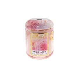Rose Quartz Heart & Home Small Jar 110 gram