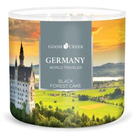Black Forest Cake  Goose Creek Candle® Germany World Traveler 3 wick