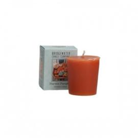 Harvest Pumpkin Fraiser Bridgewater  Votive Geurkaars 15 Branduren