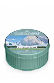 Cotton Fresh Country Candle  Daylight