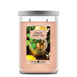 Lemon Sweet Tea Goose Creek  Tumbler Candle 120 Branduren
