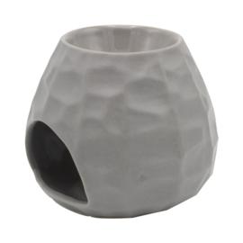 Waxmelt -Olie Chiselled  Grijs 10,5 X 12,6 cm
