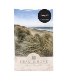 Zeegras Heart & Home Geurzakje