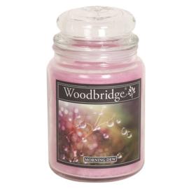 Morning Dew Woodbridge Apothecary Scented Jar  130 geururen