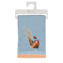 Wrendale Designs Pheasant Winter Sjaal Country Colours