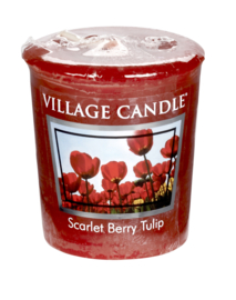 Scarlet Berry Tulips Village Candle Premium (61g) Votive