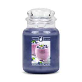 Blueberry Greek Yogurt Goose Creek Geurkaars 150 Branduren