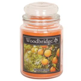 Orange Grove Woodbridge Apothecary Scented Jar  130 geururen