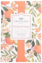 Orange Honey Greenleaf Geurzakje Large