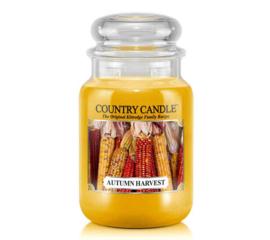 Autumn Harvest Country Candle Large Jar 150 Branduren