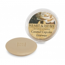 Caramel Cupcake Heart & Home Waxmelt
