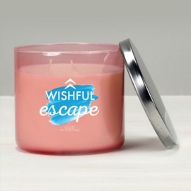 Wishful Escape  Elixer Candle 3 Wick Tumbler