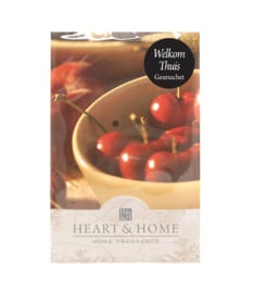 Welkom Thuis Heart & Home Geurzakje