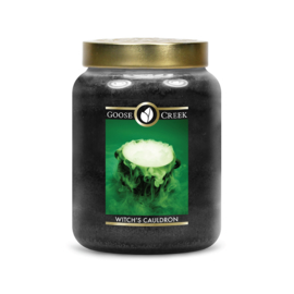 Witch's Cauldron Goose Creek Halloween  Candle