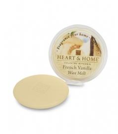 Franse Vanille Heart & Home Waxmelt