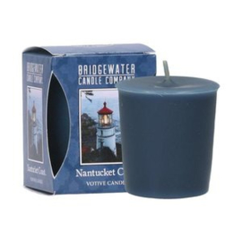 Nantucked Coast  Bridgewater Votive  Geurkaars 15 Branduren