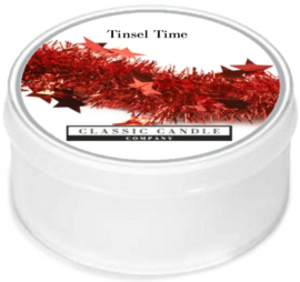 Tinsel Time Classic Candle MiniLight