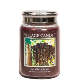 Acai Berry Tobac Village Candle  Large Jar 170 Branduren