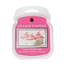 Cherry Vanilla Swirl  Village Candle 1 Wax Meltblokje