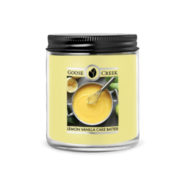 Lemon Vanilla Cake Batter Goose Creek  7oz soywax candle