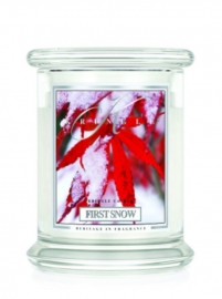 First Snow  Kringle Candle 14,5oz Medium Jar  (2 Lonten)