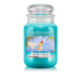 Coconut Colada Country Candle Large Jar 150 Branduren