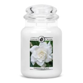 Gardenia Petals Goose Creek Candle Large Jar 150 Branduren