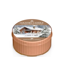 Cozy Cabin Country Candle   Daylight