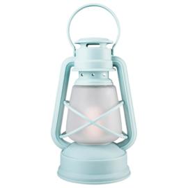 Gusta Stormlampje LED ø14x24,5cm Blauw