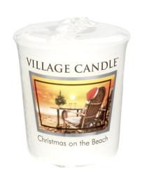 Christmas on the Beach  Village Candle  Premium 61g Votive