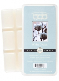 White Cotton  Bridgewater  Candle Company 1 Wax blokje
