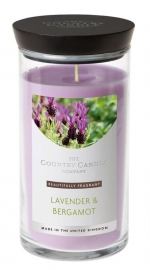 Lavender & Bergamot  Country Candle Medium jar