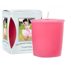 Tickled Pink Bridgewater Votive Geurkaars 15 Branduren