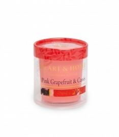 Pink grapefruit & Cassis Heart & Home Votive Geurkaars