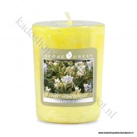 Sweet Honey Suckle Goose Creek Candle Votive Geurkaars