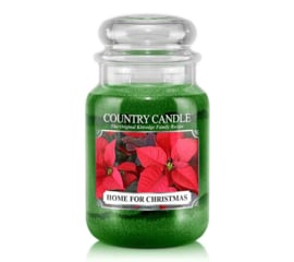 Home For Christmas  Country Candle Large Jar 150 Branduren