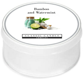 Bamboo and Watermint  Classic Candle MiniLight
