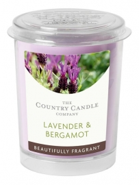 Lavender & Bergamot Country Candle votive geurkaars 20 branduren