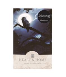 Schemering Heart & Home Geurzakje