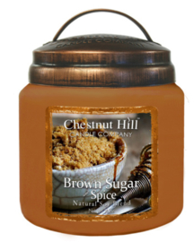 Chestnut Hill  Brown Sugar Spice  2 wick Candle 450 Gr
