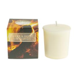 Welcoming Fire votive geurkaars Heart & Home 52 gram